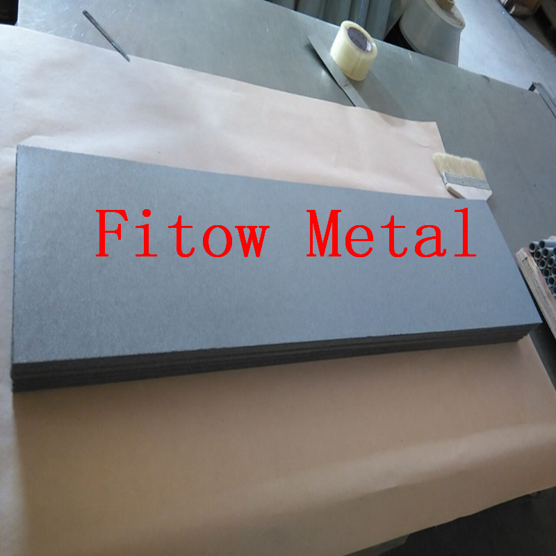 sintered titanium powder filter plate 2*260*1000