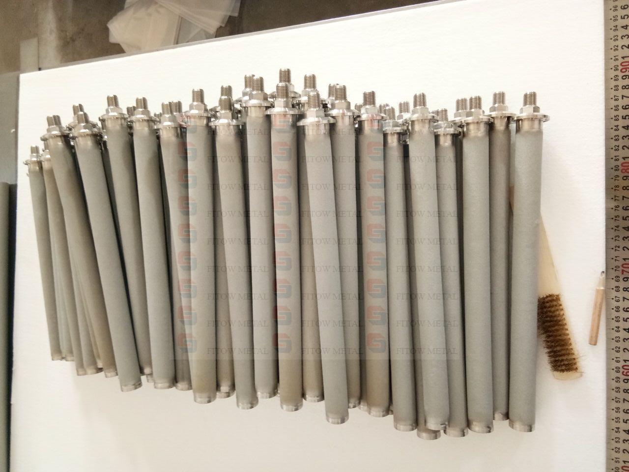 Sintered Stainless Steel Filter Elements Sintered Filter