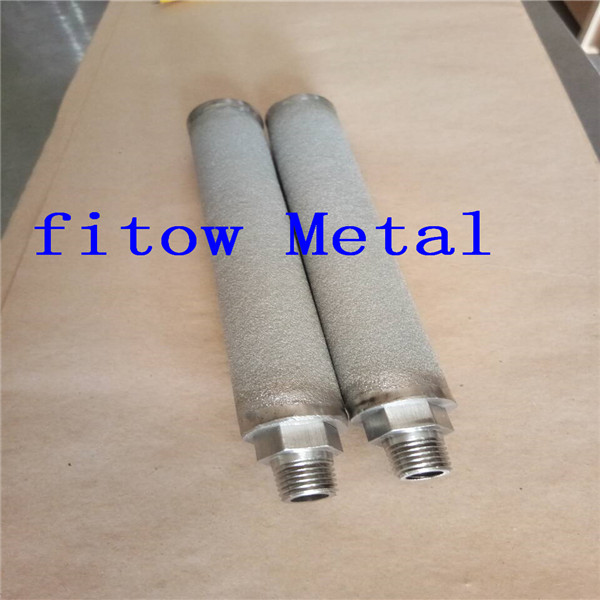 Micron Porous Sintered Metal Filter Cartridge OD25*160mm