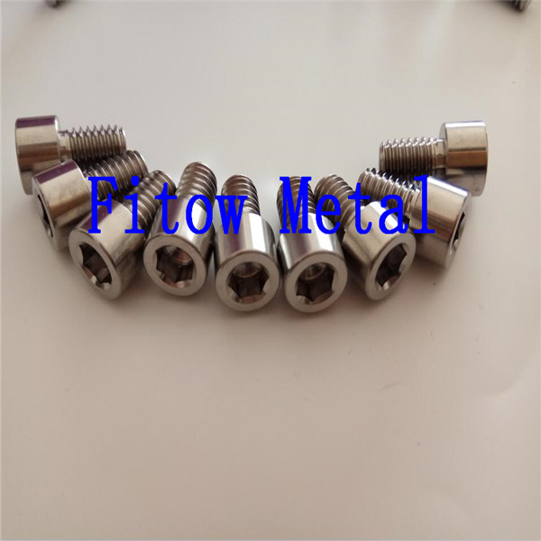 DIN 912 / ISO 4762 titanium Socket Cap Screw Grade5