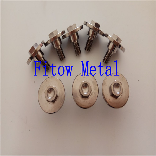 DIN 6921 titanium Flange Bolts METRIC Bolts & Cap Screw.M7*17.5mm