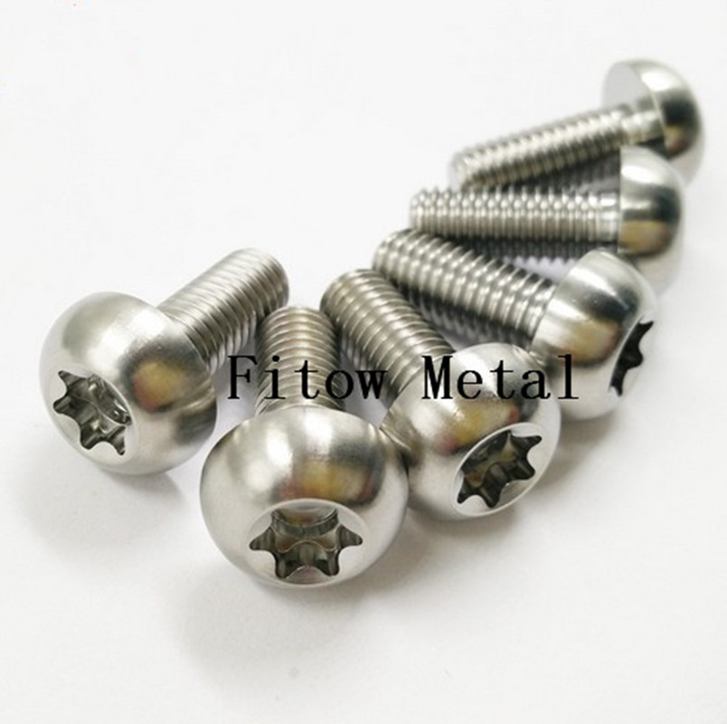 Titanium Alloy Hexalobular Socket Bolt for Mountain Racing Bicycle