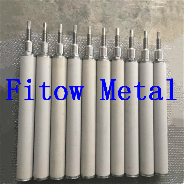 Titanium Sintered Porous Metal Filter Tube