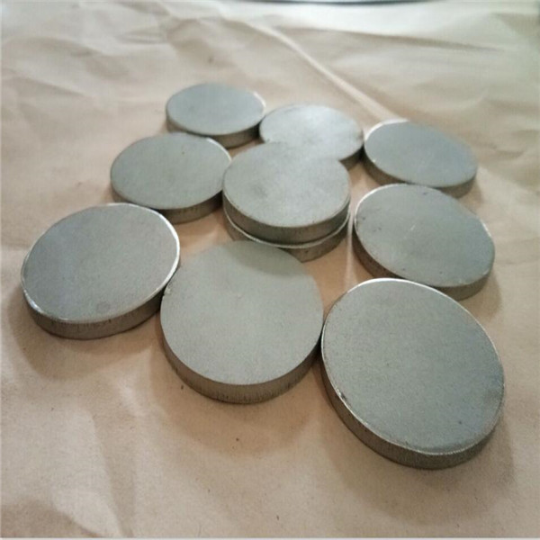 Stainless Steel SS316 Porous Sintered Disc dia47*5mm