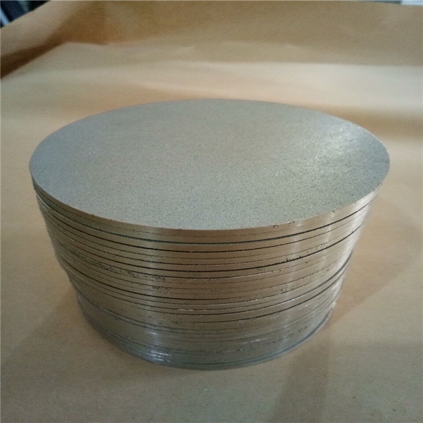 4inch powder stainless steel sintered metal filter disk